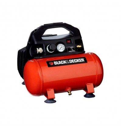 Compresor De Aire Sin Aceite 0.50 Hp 6 Lts Black Decker Ct6-AR Black And Decker - 1