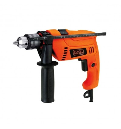 Taladro Percutor 550 + Maletín Con Accesorio Black & Decker HD565K-AR Black And Decker - 1