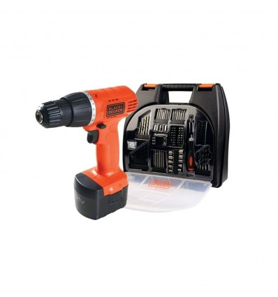 Taladro Atornillador Inalam.12v+100 Acces. Black & Decker CD121k100-AR Black And Decker - 1